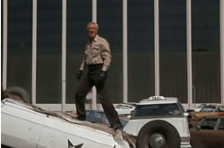 Hannibal atop a cab