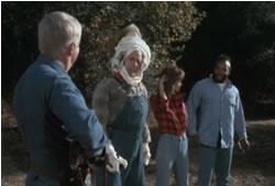 Hannibal, Murdock and B.A. on a farm