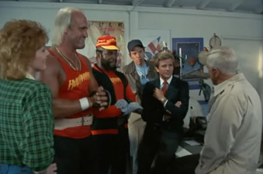 The A-Team hangs out with Hulk Hogan
