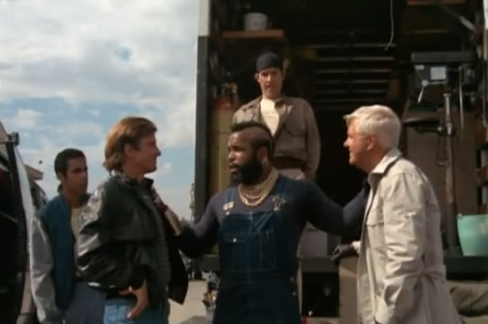 The A-Team and Frankie