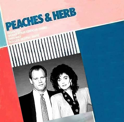 Hunter and Deedee as Peaches and Herb