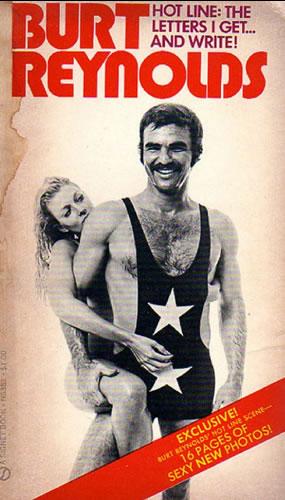 Burt Reynolds in a singlet