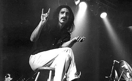 Frank Zappa, metal maniac