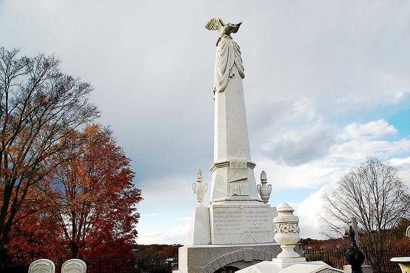 Andrew Johnson's tomb