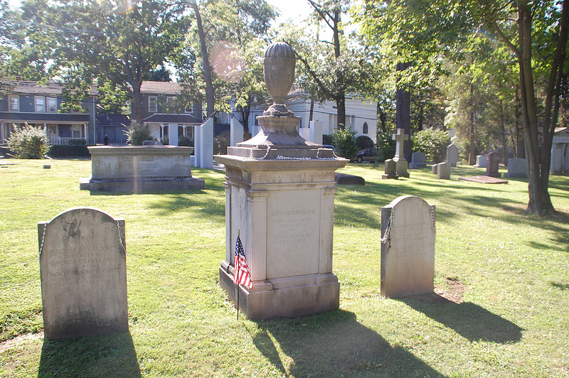Grover Cleveland's grave