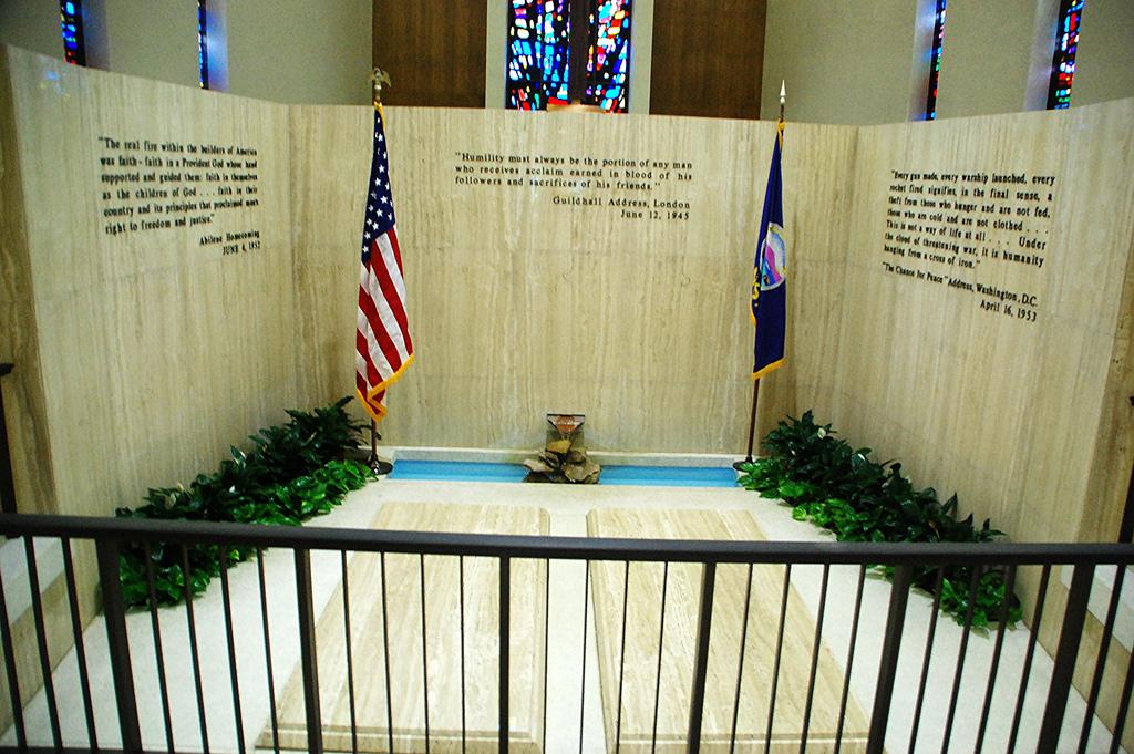 Dwight Eisenhower's grave