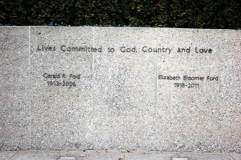 Gerald Ford gravesite