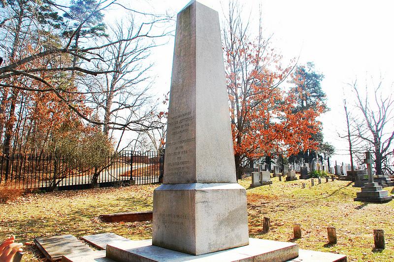 Thomas Jefferson's grave