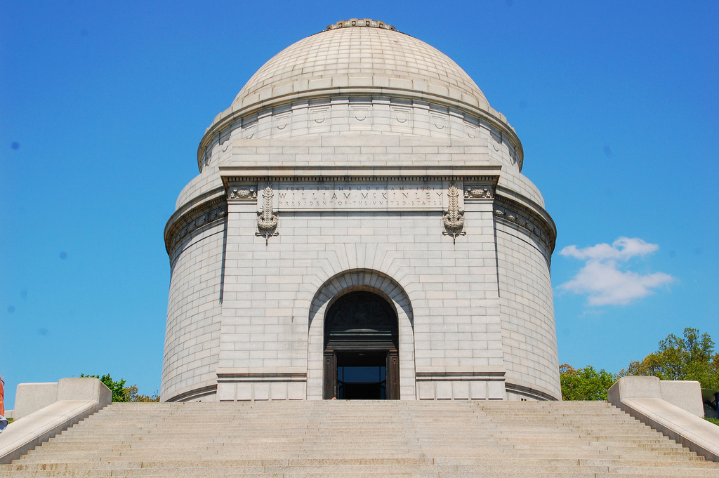The McKinley Tomb in Canton