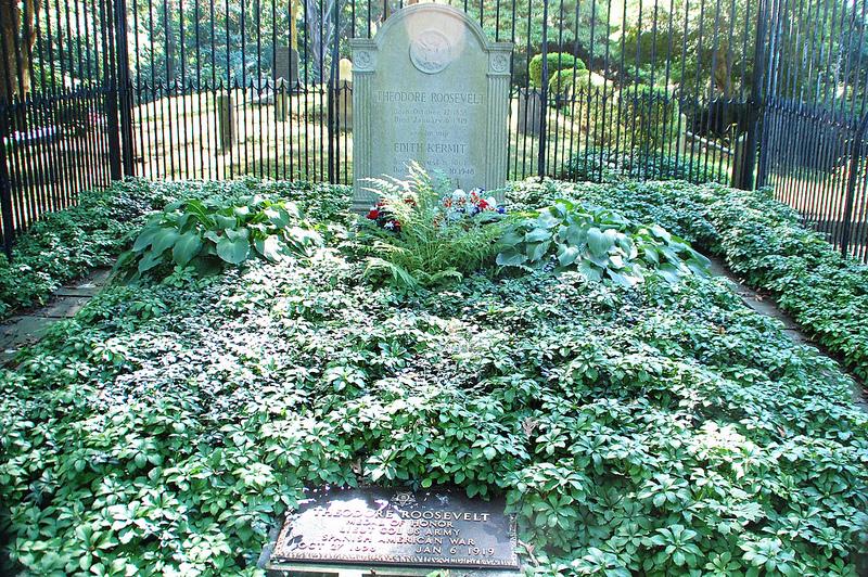 Theodore Roosevelt's grave