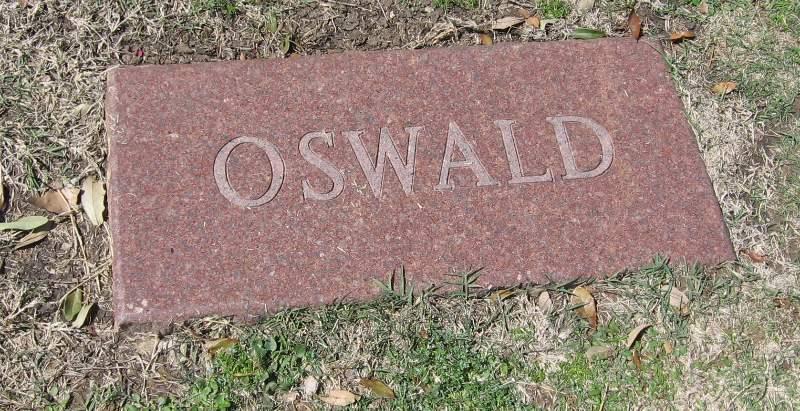 Lee Harvey Oswald grave marker