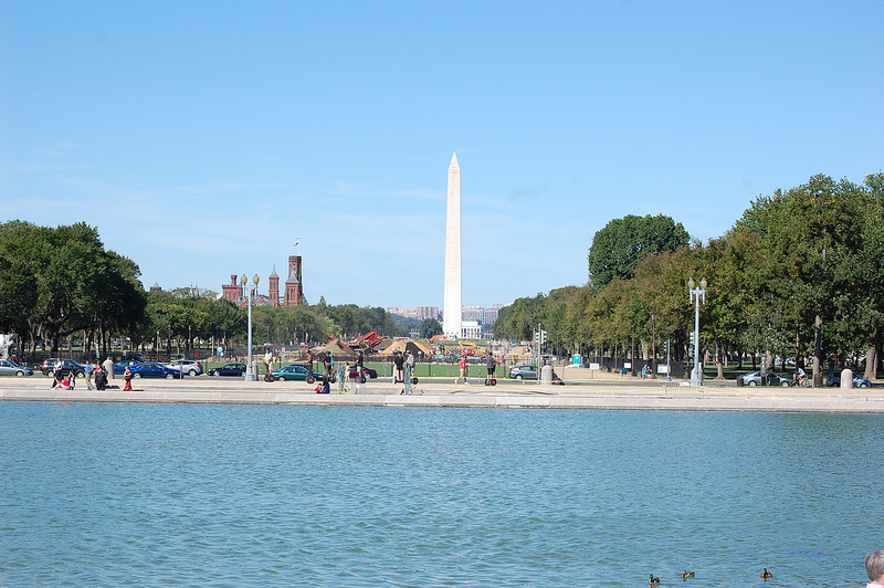 The National Mall, seen from the east.