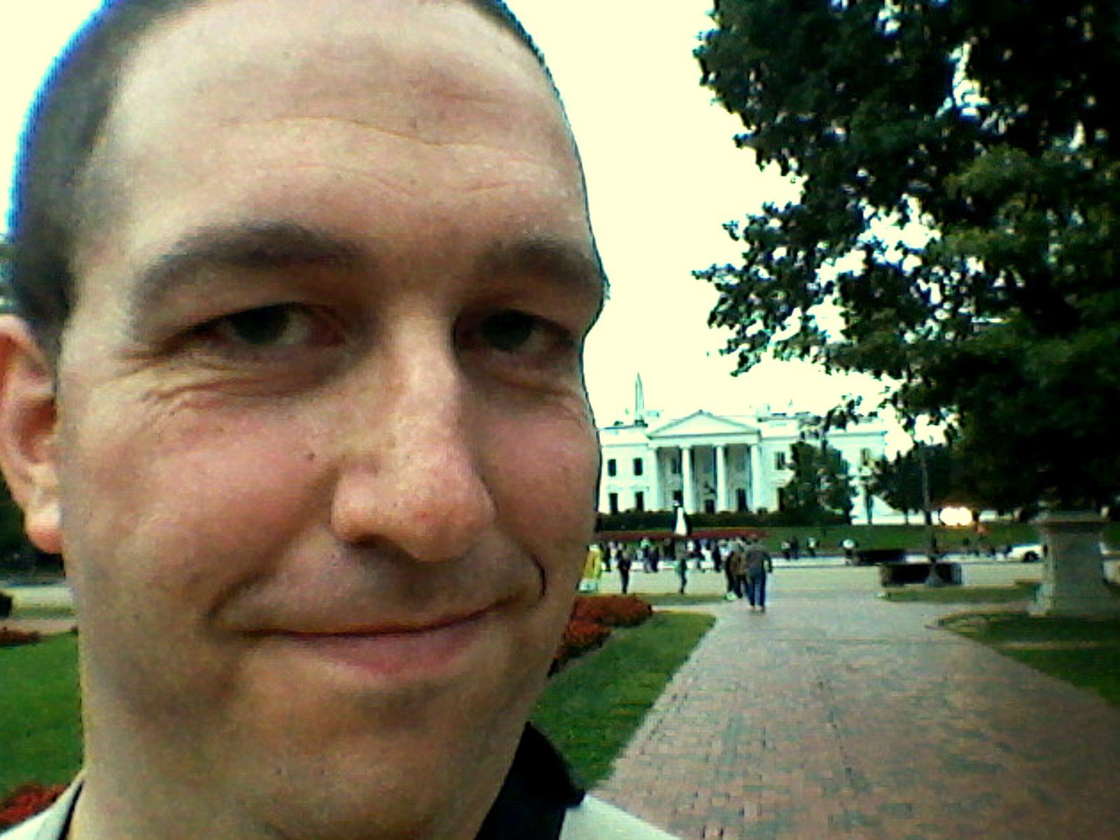 Brady by the White House