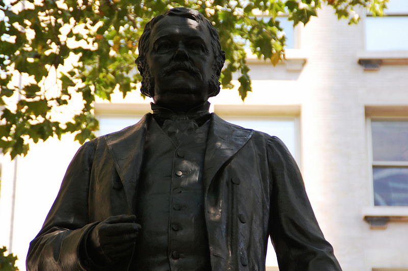 Chester Arthur statue at Madison Square Park