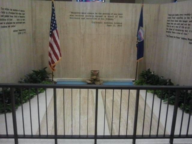 Dwight D Eisenhower's grave