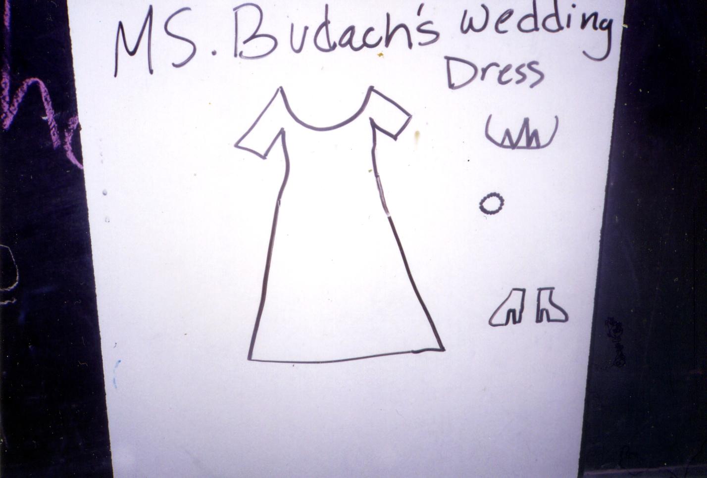 """""""Ms. Budach's Wedding Dress"""""""