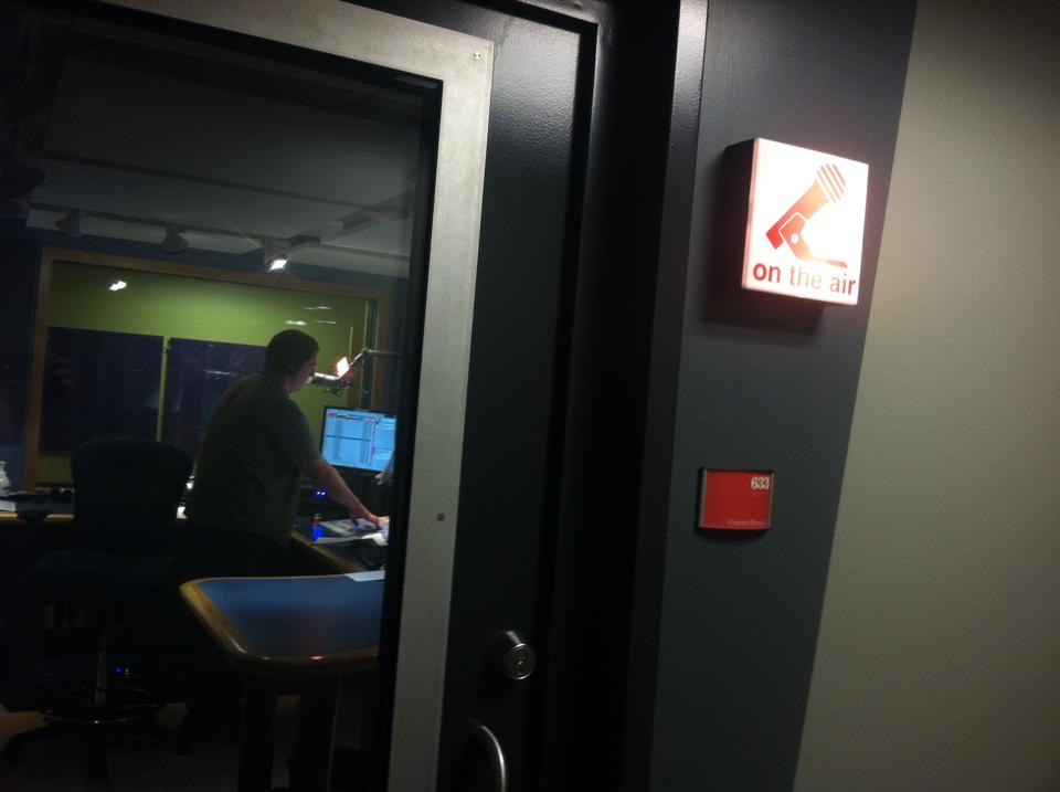 Brady on the air