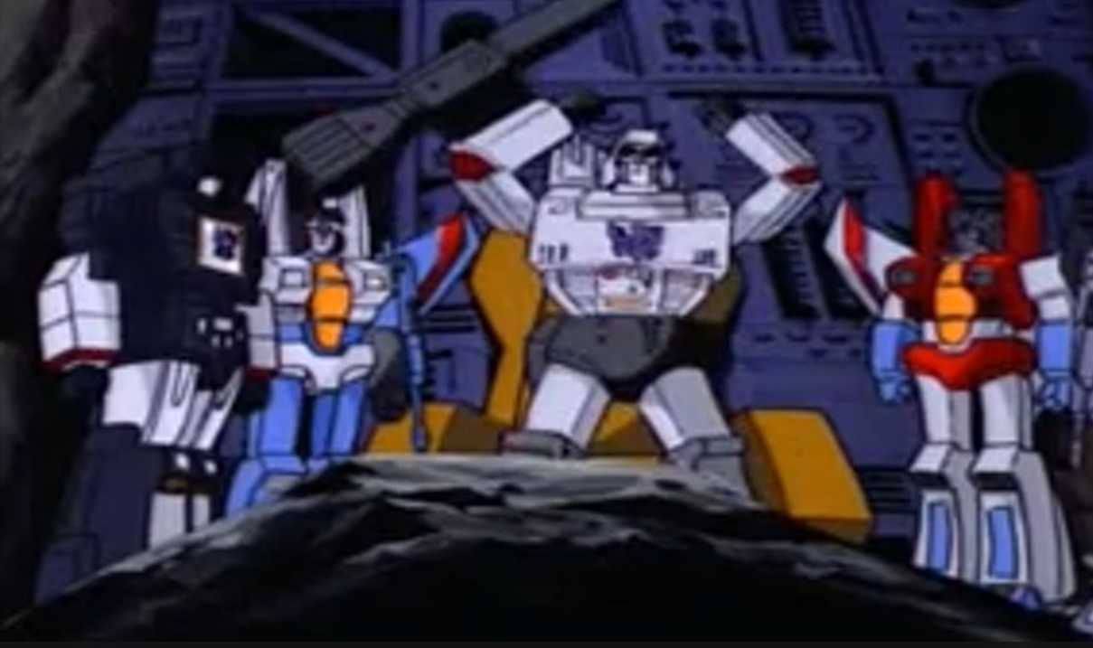 Megatron is impressed with himself
