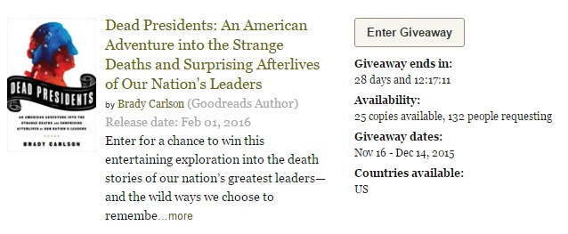 Win a copy of Dead Presidents