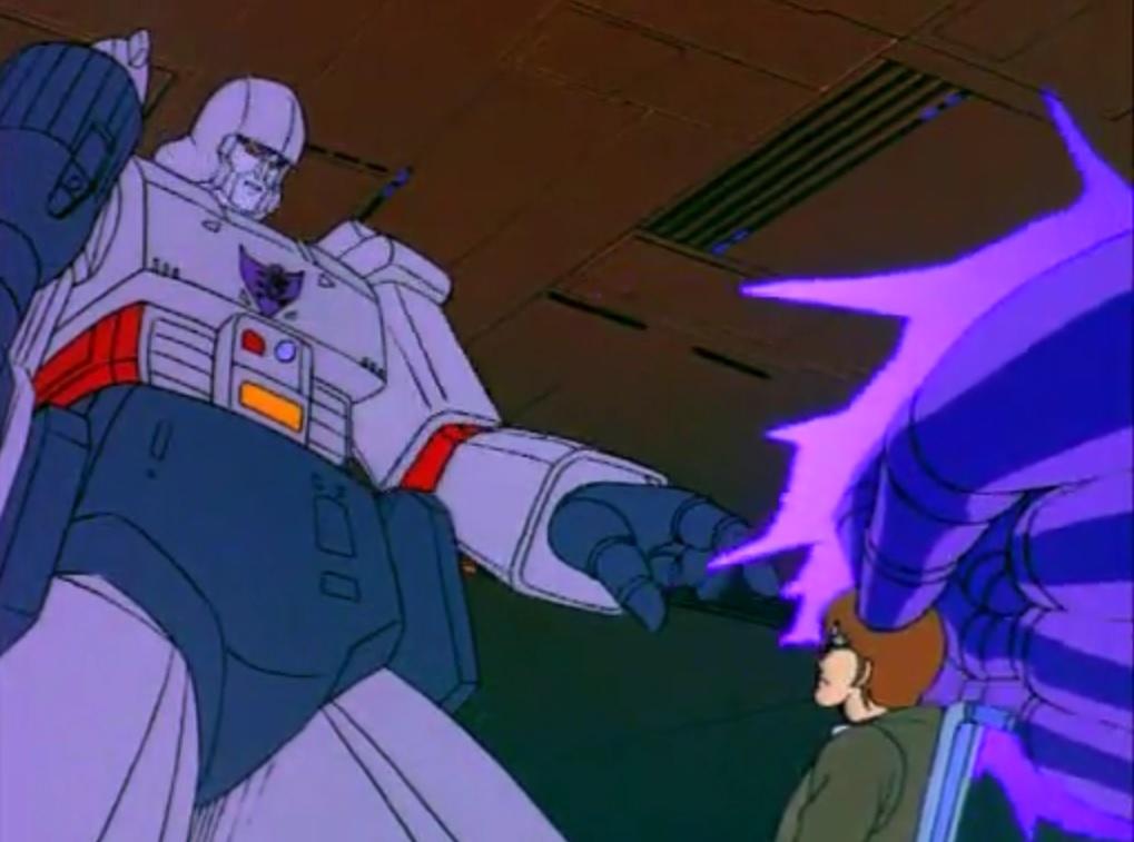 Megatron zaps Chip's mind