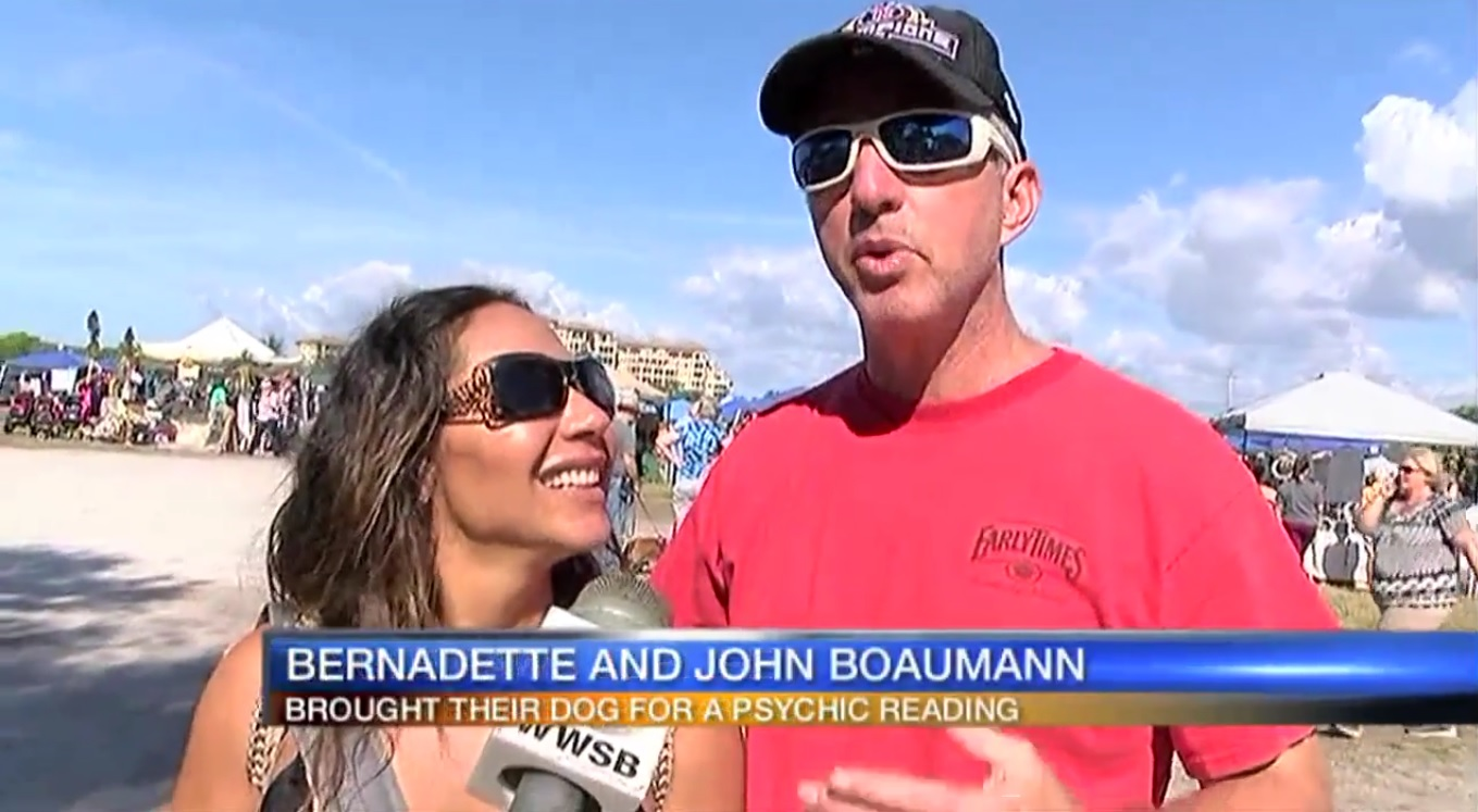 Bernadette and John Boaumann: Brought Their Dog For A Psychic Reading