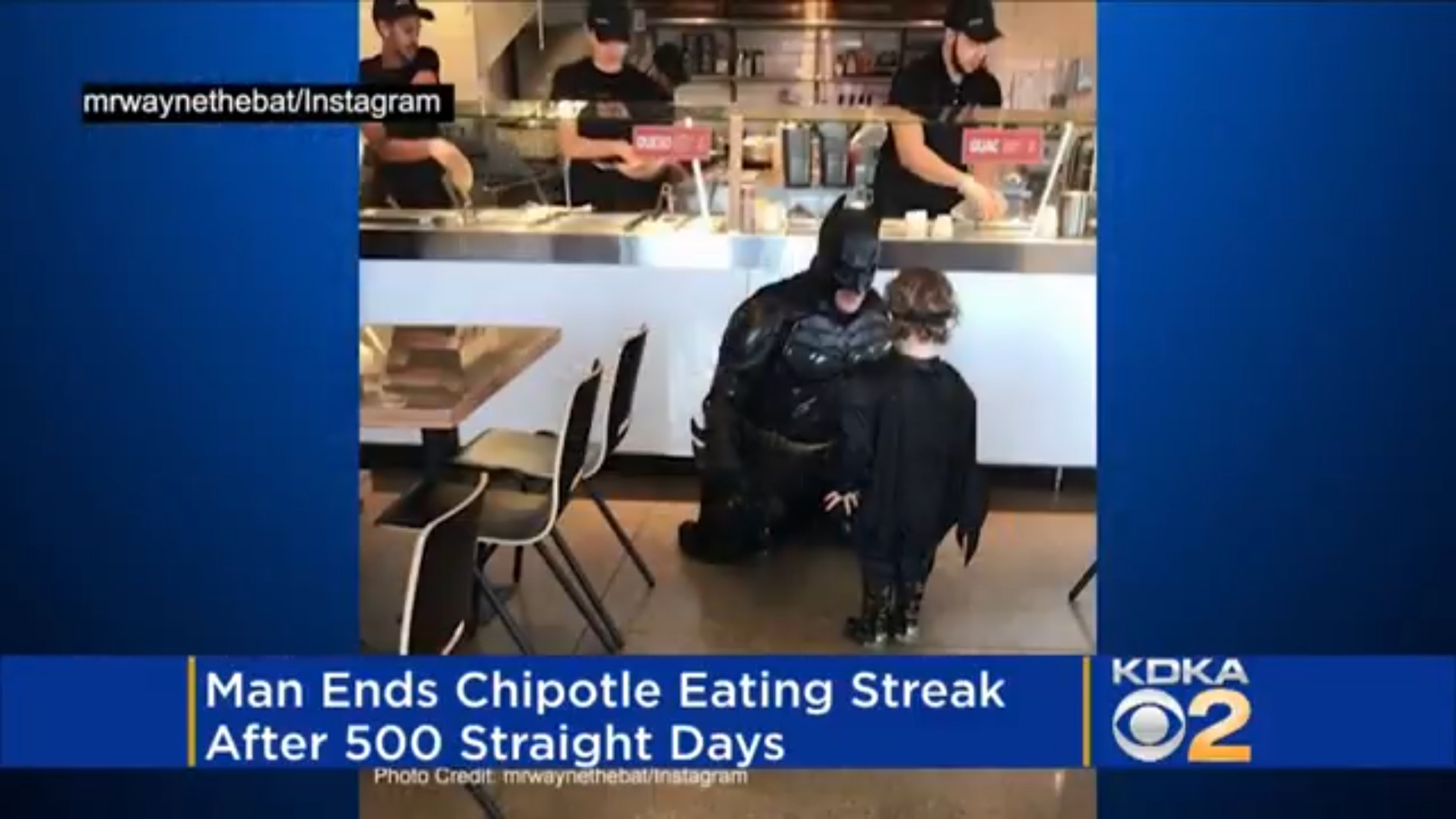 Man Ends Chipotle Eating Streak After 500 Days