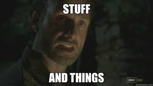 Rick Grimes STUFF AND THINGS