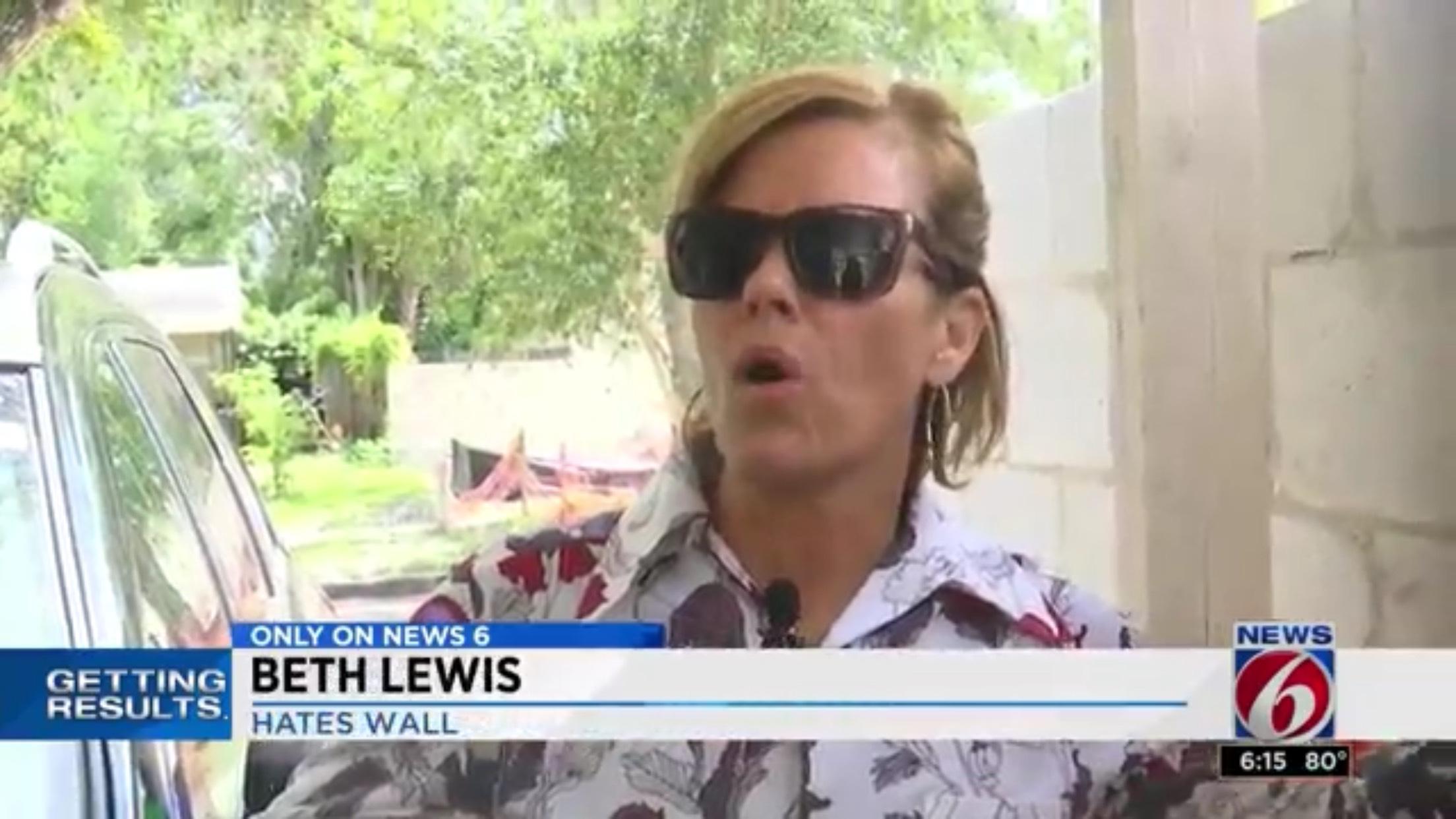 Beth Lewis: Hates Wall