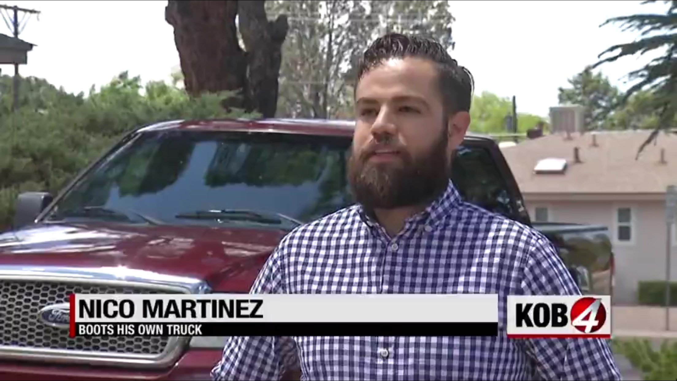 Nico Martinez: Boots His Own Truck