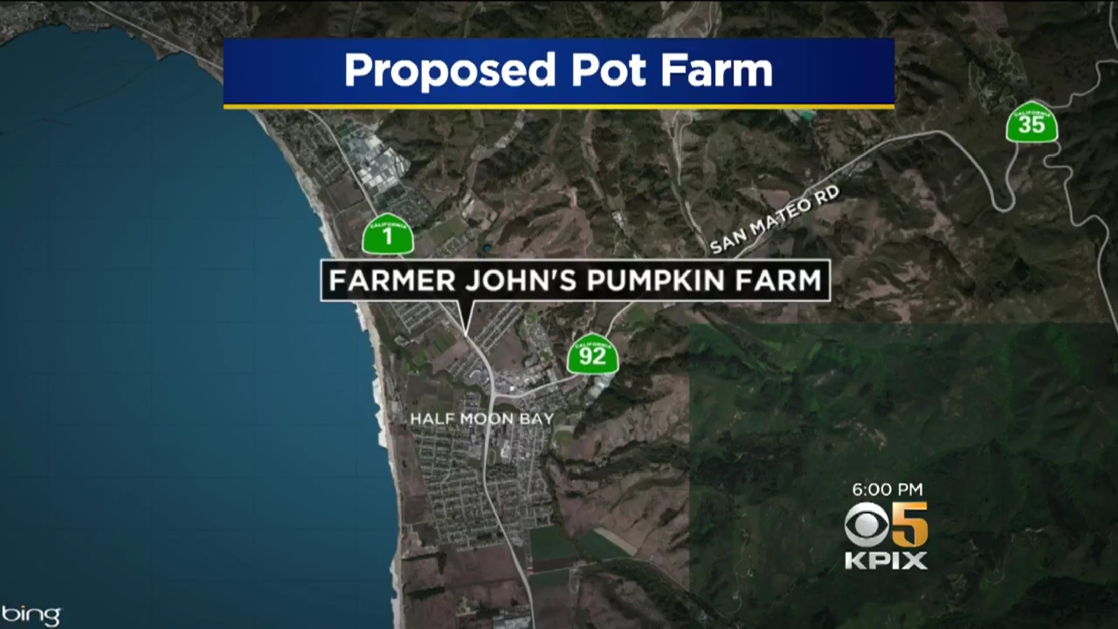 Proposed Pot Farm: Farmer John's Pumpkin Farm
