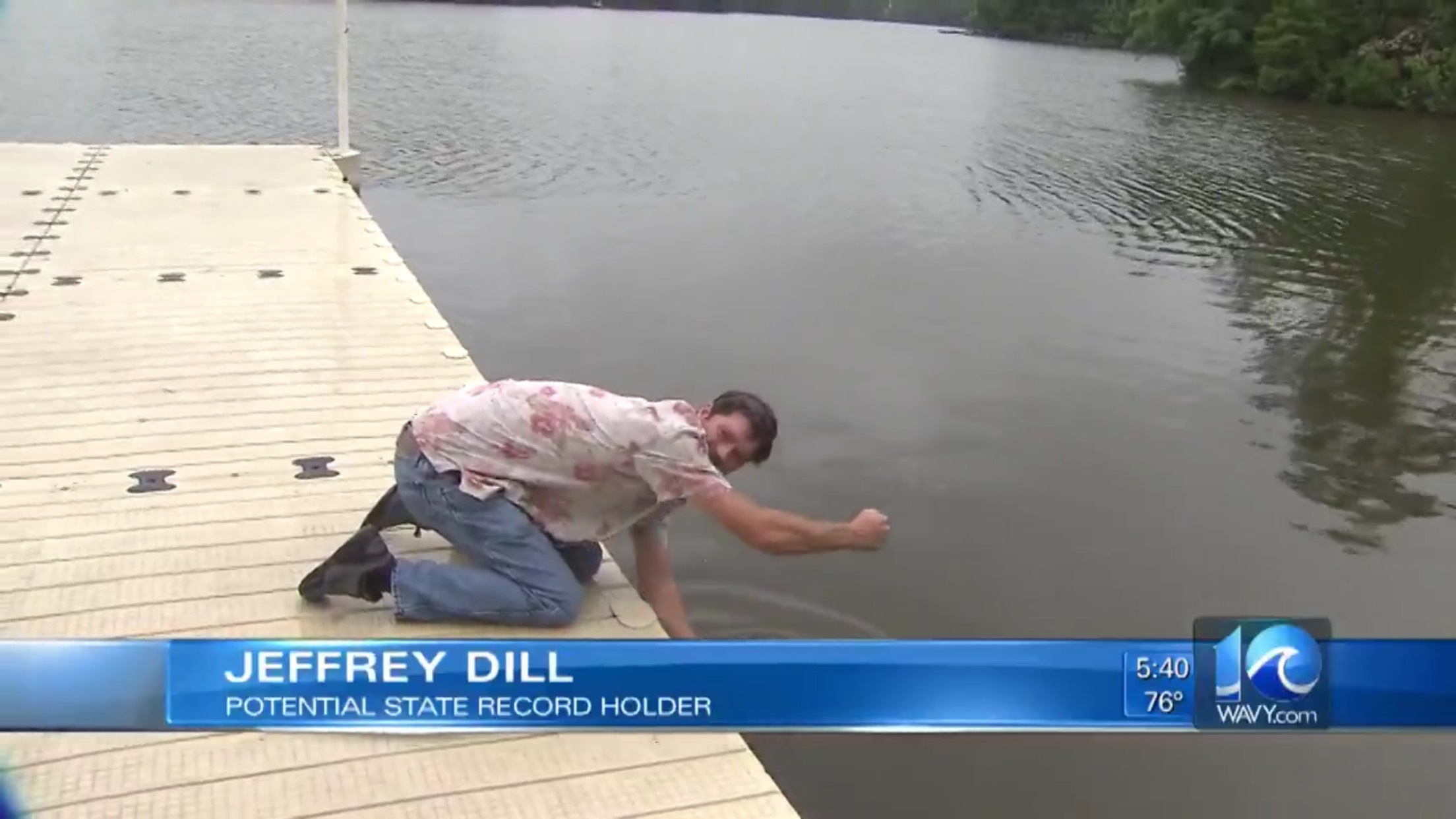 Jeffrey Dill: Potential State Record Holder