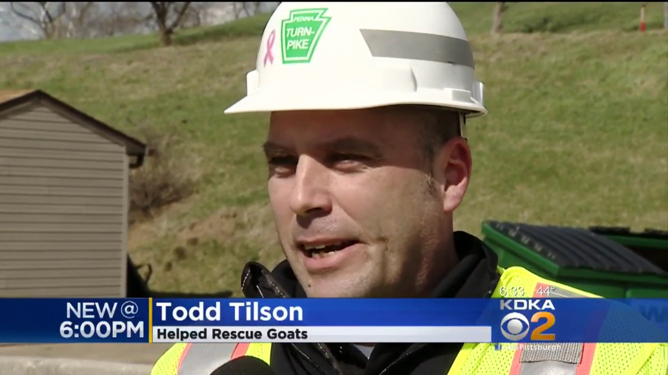 Todd Tilson: Helped Rescue Goats