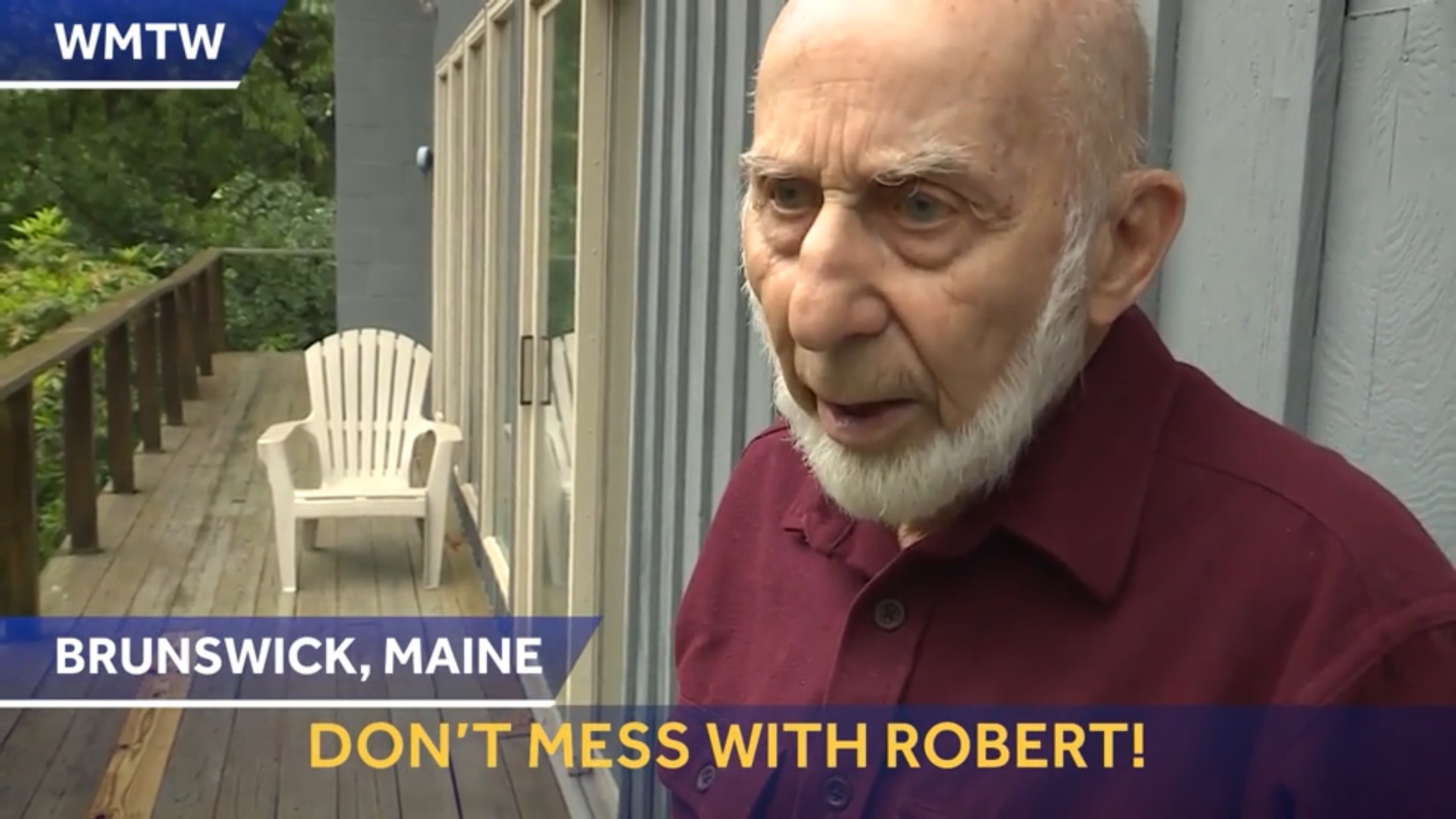 Don't Mess With Robert!