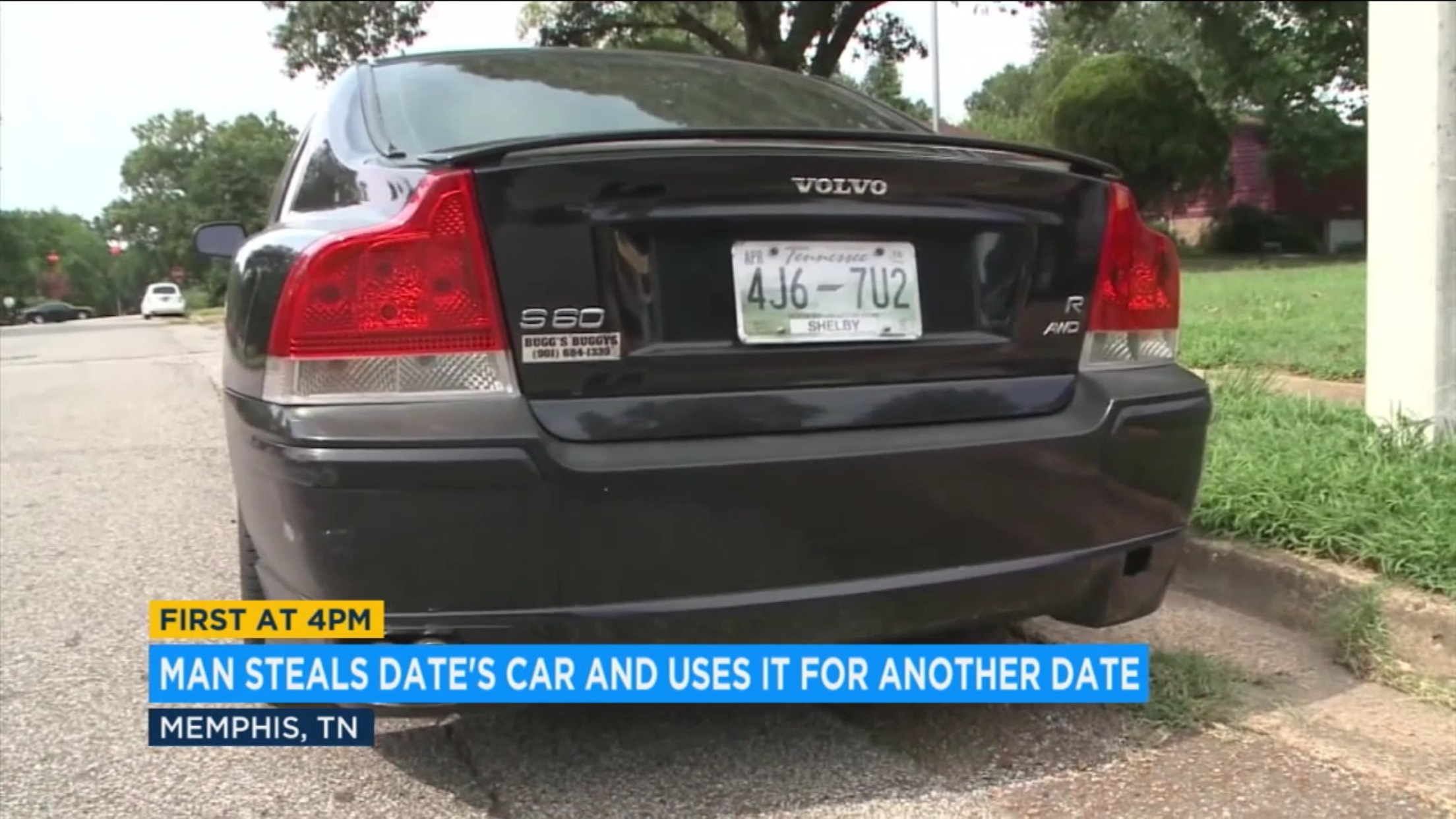 Man Steals Date's Car And Uses It For Another Date