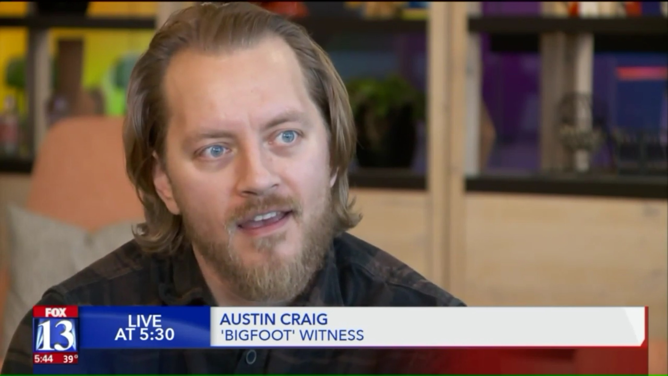 Austin Craig: 'Bigfoot' Witness