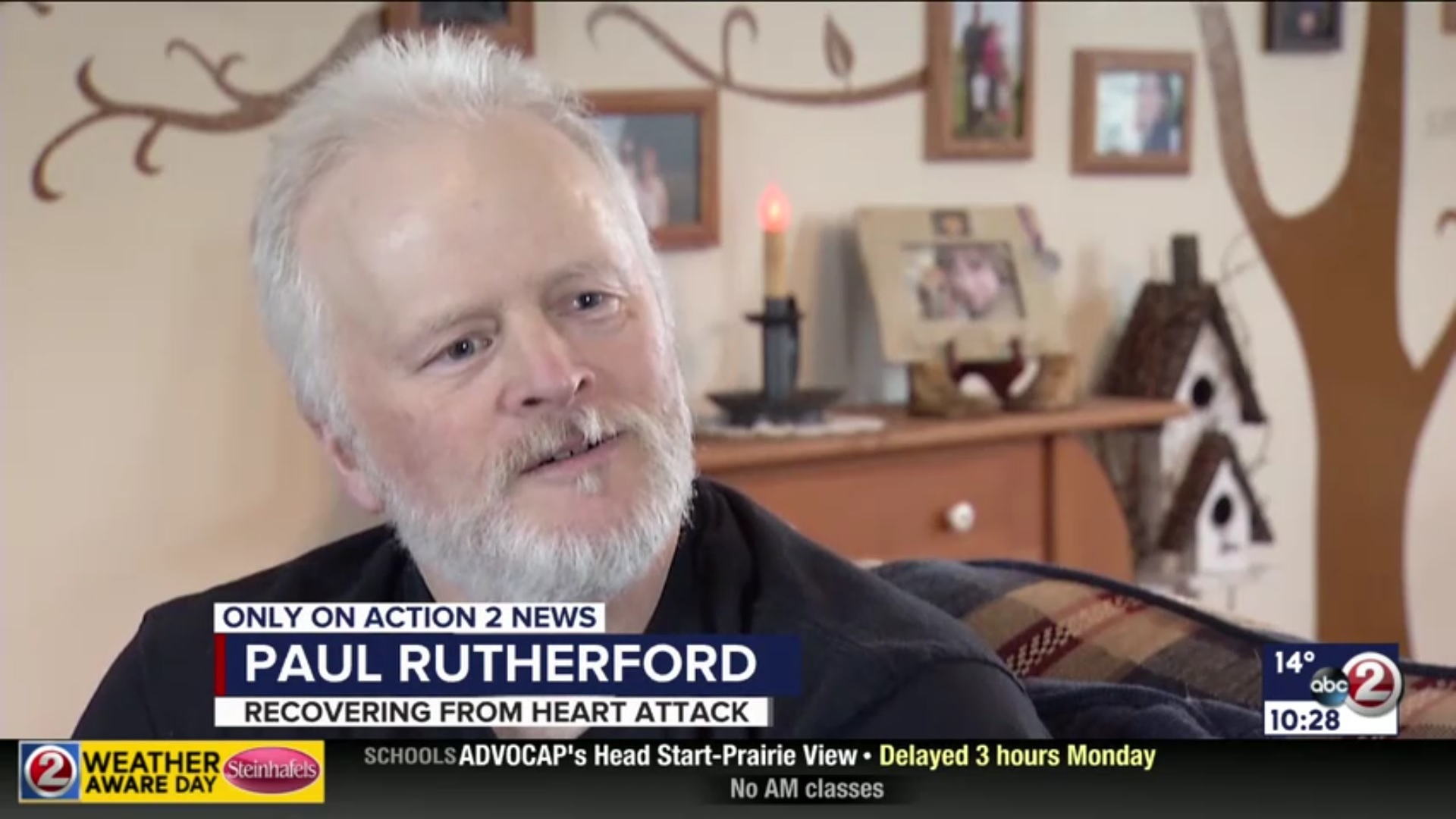 Paul Rutherford: Recovering From Heart Attack