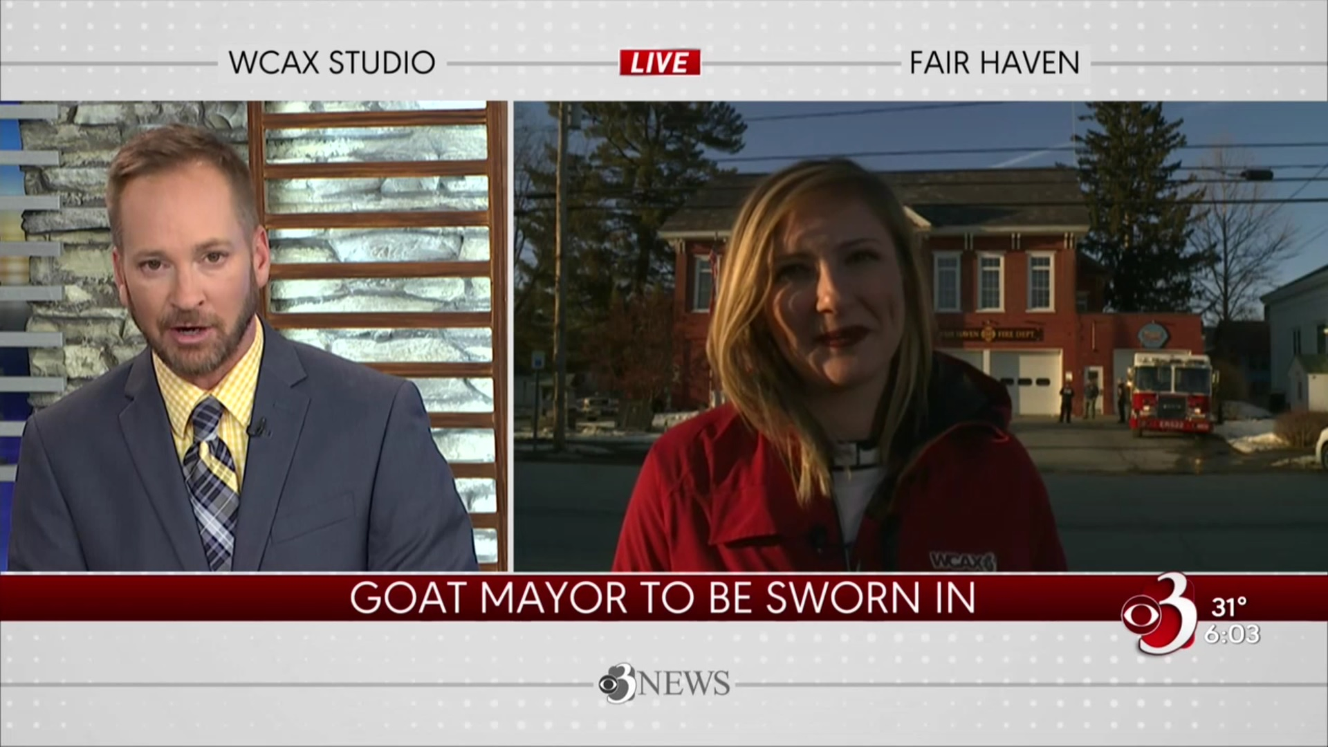 Goat Mayor To Be Sworn In