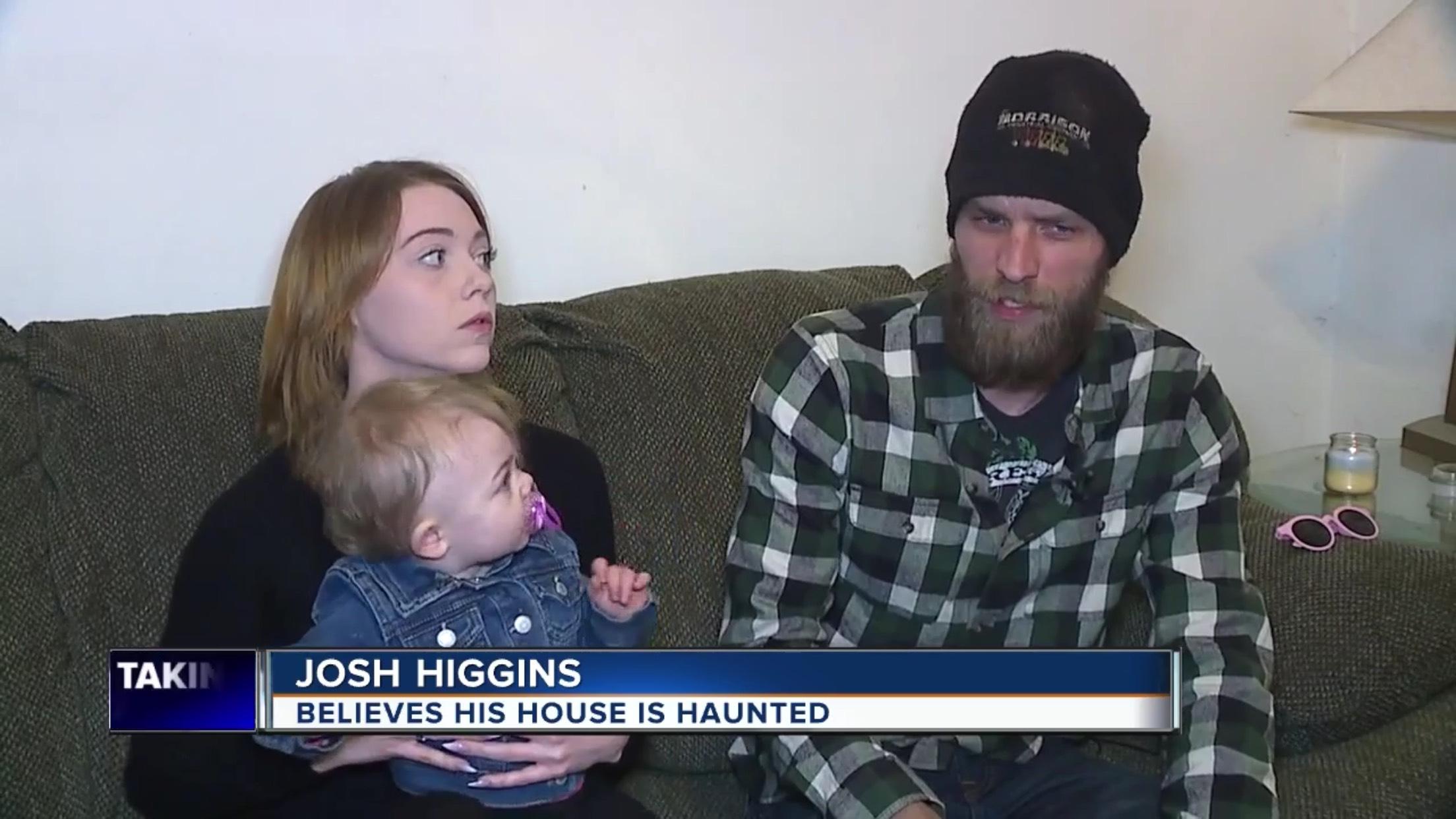 Josh Higgins: Believes His House Is Haunted