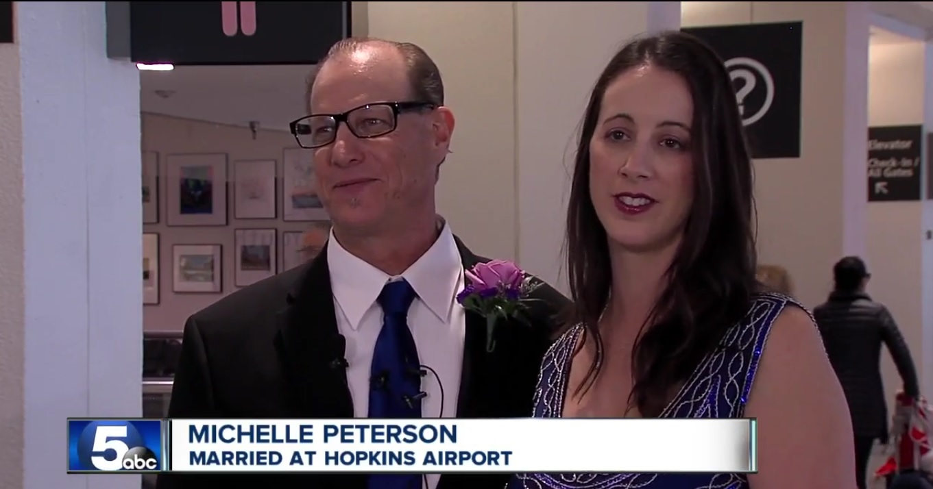 Married at Hopkins Airport