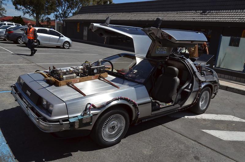 DeLorean (photo by Sascha Grant via Flickr/Creative Commons https://flic.kr/p/ds57D1)