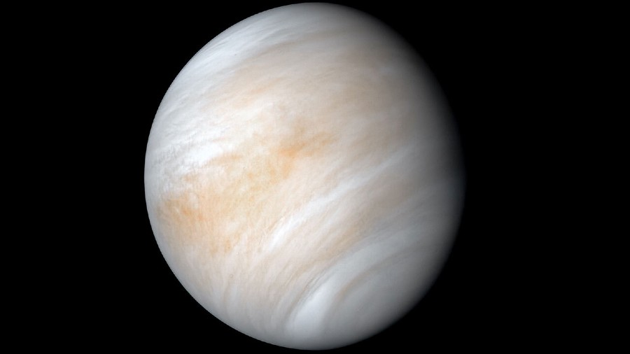 Venus. (Photo NASA/JPL-Caltech)