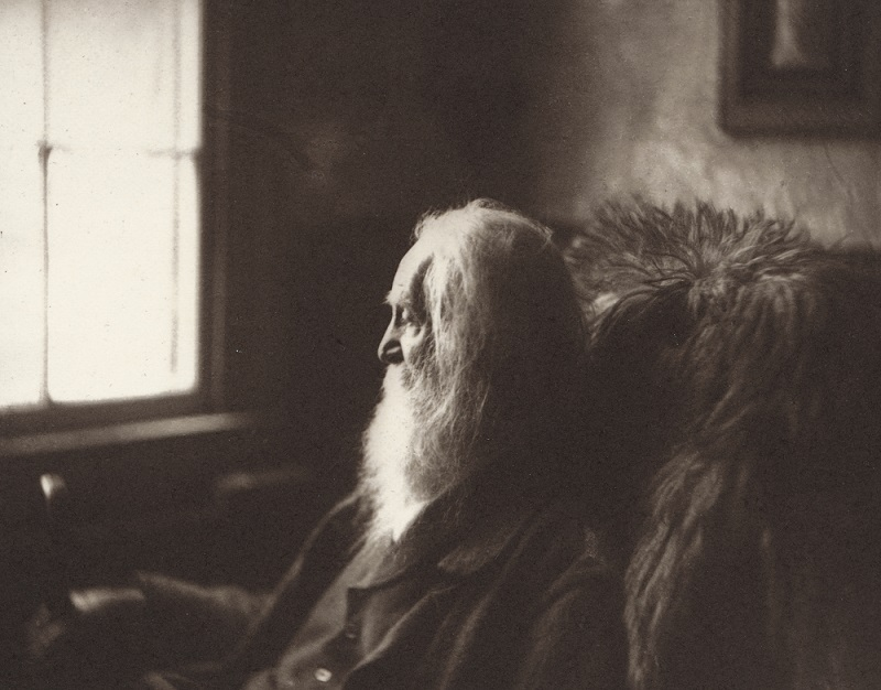Walt Whitman portrait, 1891 (National Portrait Gallery, Smithsonian Institution)