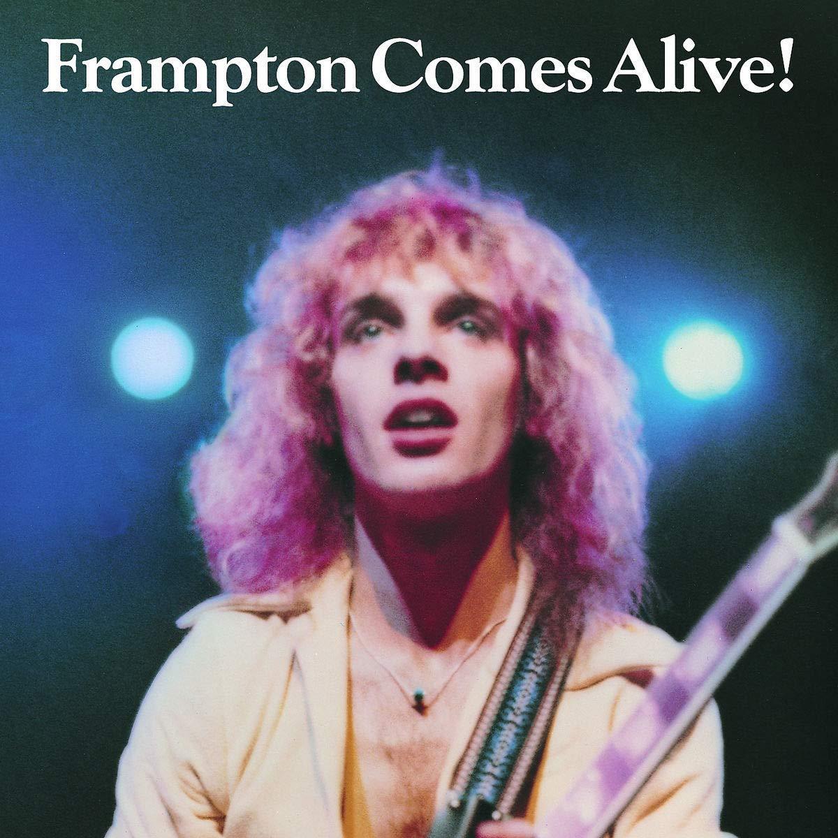 """""""Frampton Comes Alive"""" album cover"""