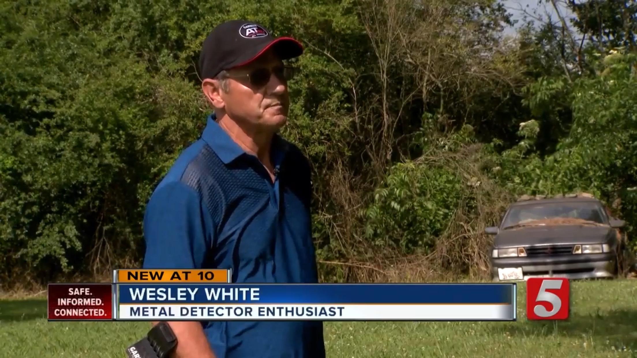 Wesley White: Metal Detector Enthusiast