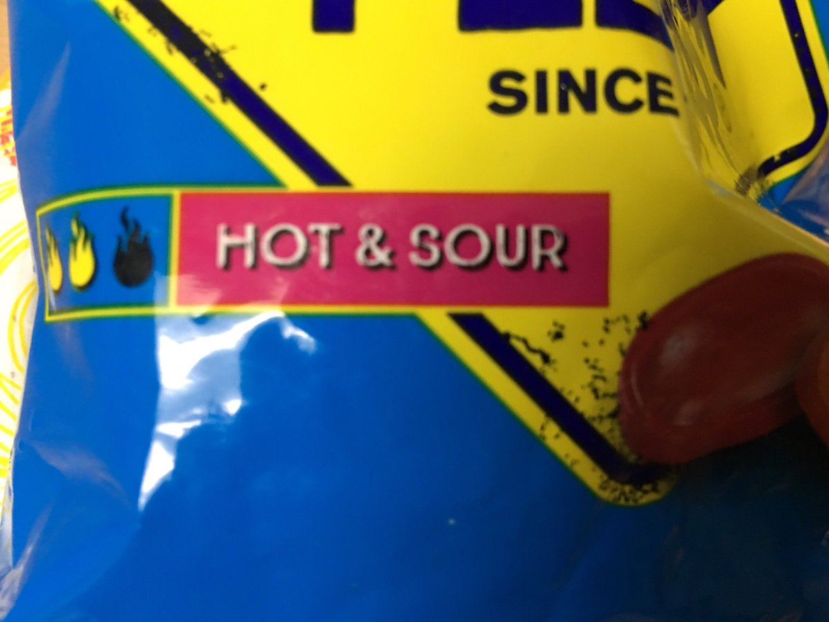 "Snack bag: ""Hot & Sour"""