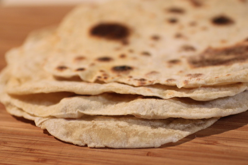 Homemade tortillas (photo by Stacy Spensley via Flickr/Creative Commons https://flic.kr/p/6PMs7d)