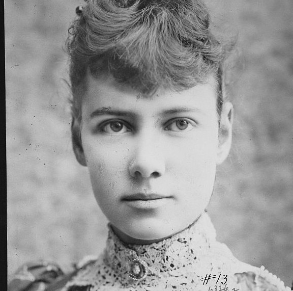 Nellie Bly, 1890.
