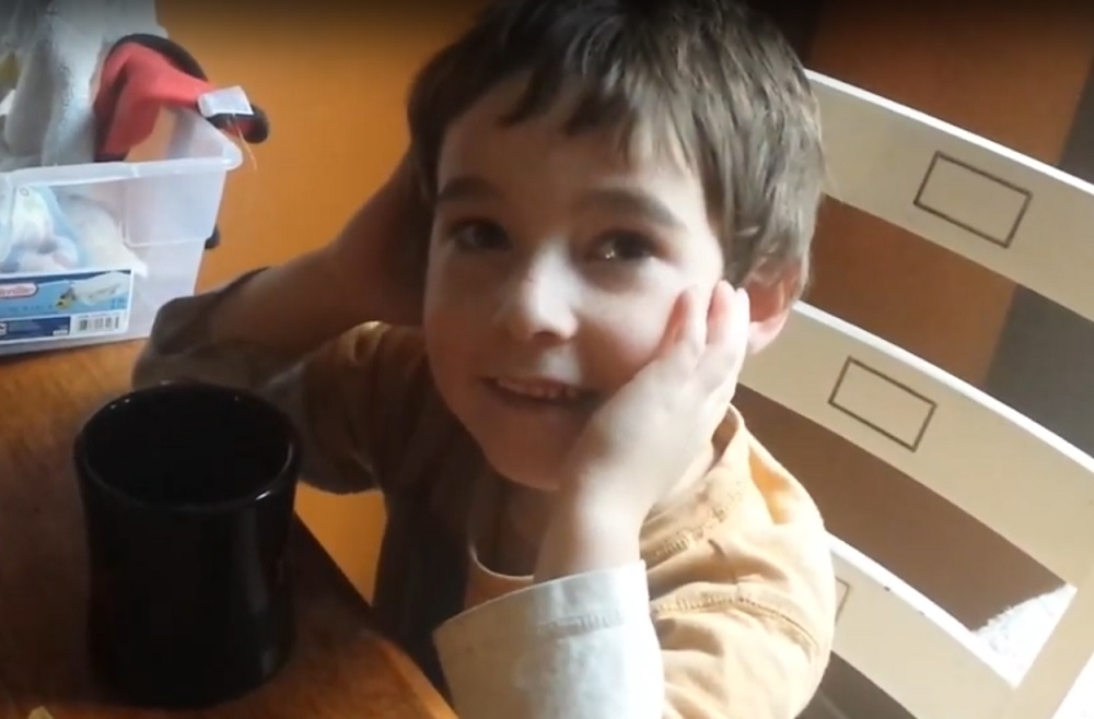 Four year old singing his Whopper song
