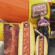 The Carlson Kids see the Wienermobile