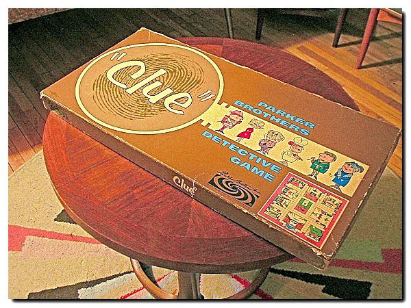 Clue board game from 1960 (photo by Thrift Store Addict via Flickr/CC)
